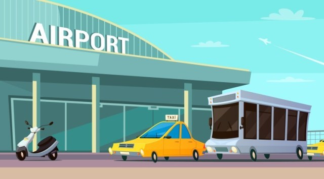 airport ride app