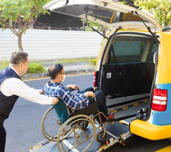 Uber for differently abled