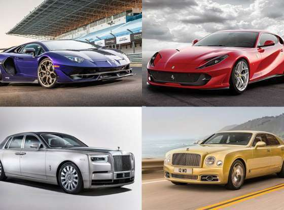 10 Most expensive car