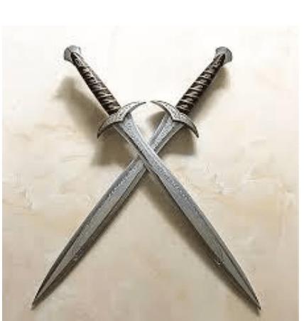 hobbit sword replicas