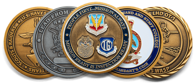challenge coins in the military