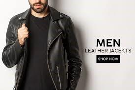 biker leather jackets for men