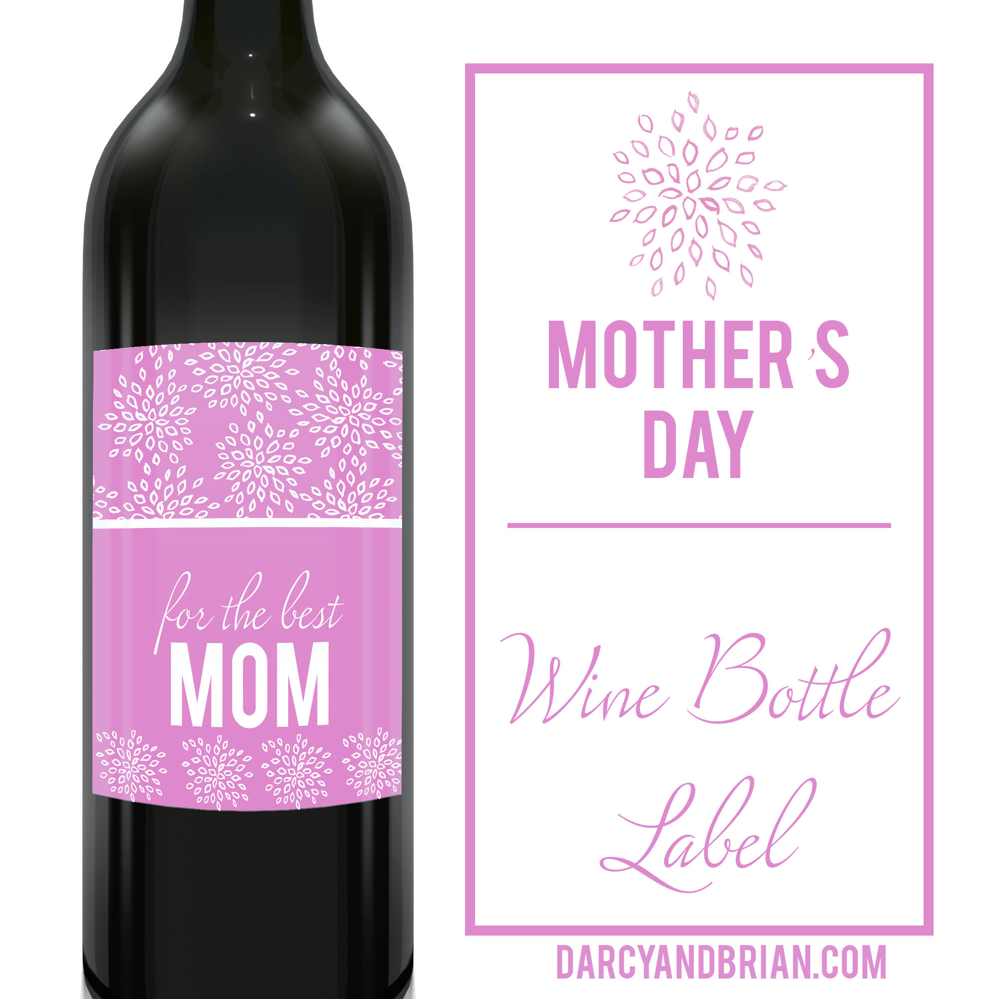 10 Ts For Moms Who Love Wine Plus Free Wine Label Printable