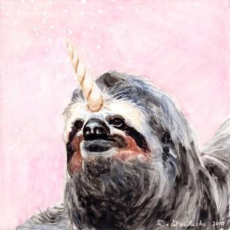 Slothicorn by Darcy Goedecke