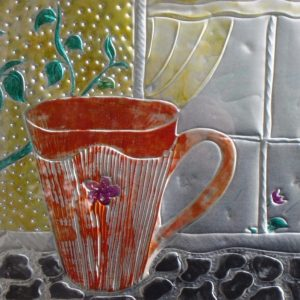 Coffee cup series - Break in the Garden