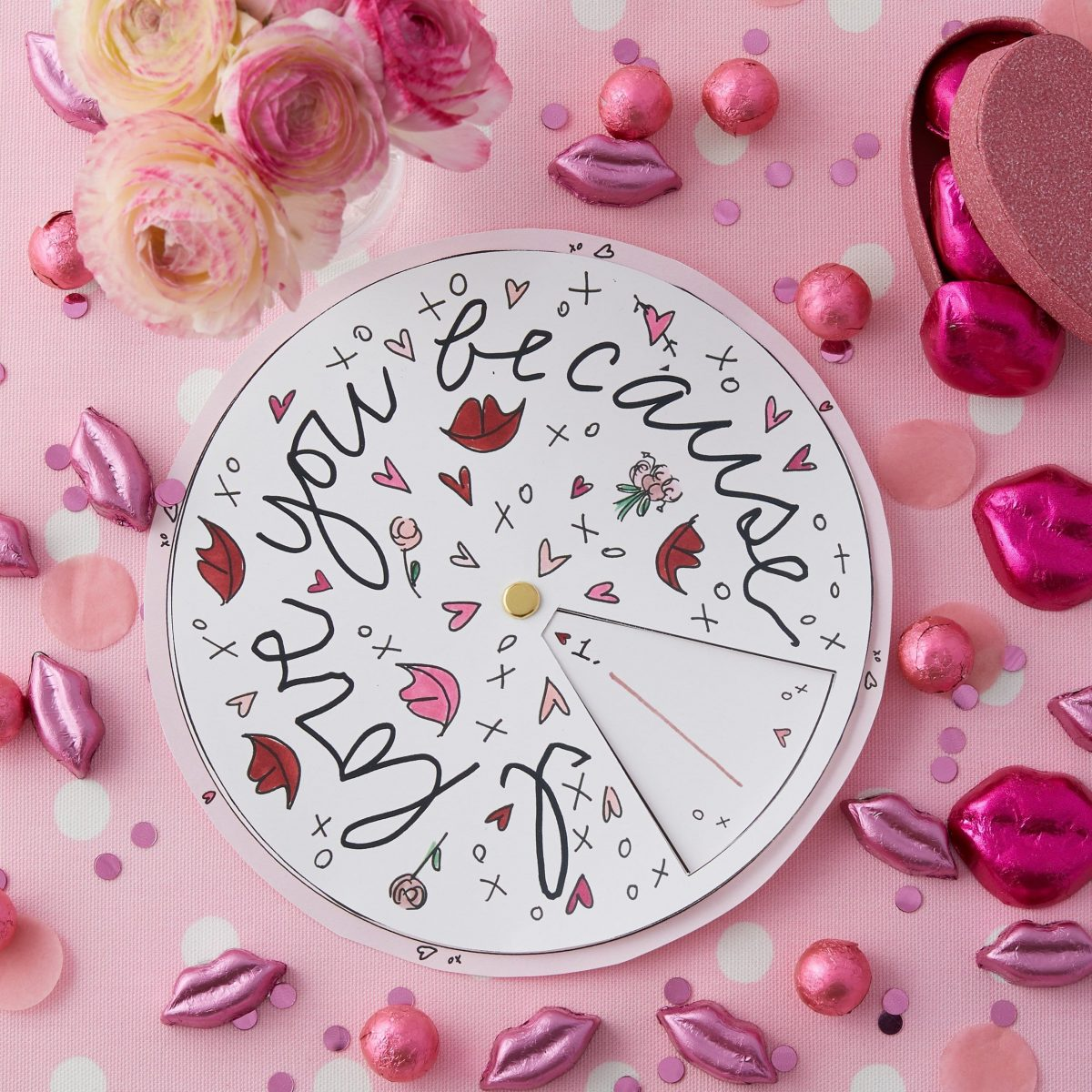 Fill In The Blanks Customized Valentine S Day Spinner