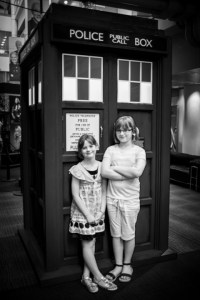 The Girls and the TARDIS
