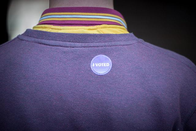 i voted b
