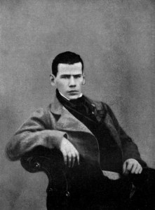 Tolstoy in 1848
