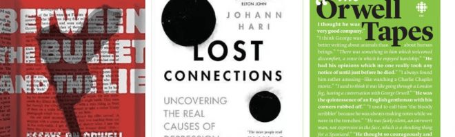 Lost Connections by Johann Hari #review and my #reading in