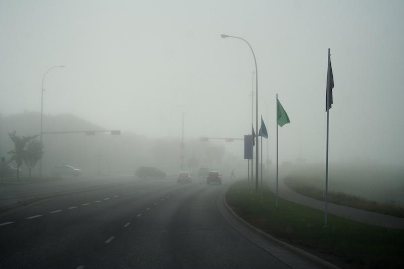 2009-07-15 - fog intersection