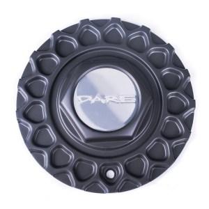 Dare RS Matt Black Centre Cap / Central Cover / Center Cap