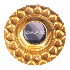 Dare RS Gold Centre Cap / Central Cover / Center Cap