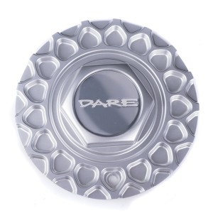 Dare RS Silver Centre Cap / Central Cover / Center Cap
