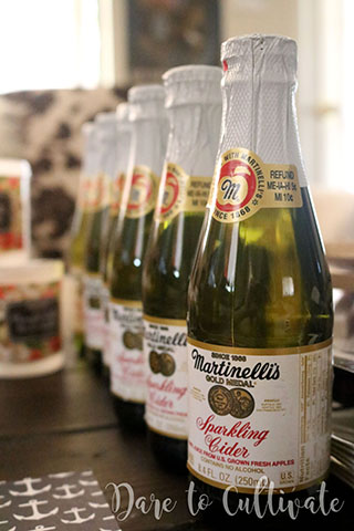 Martinelli's Sparkling Apple Cider for Bridesmaid Box