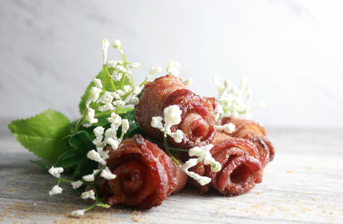 Brown Sugar Candied Bacon Bouquet