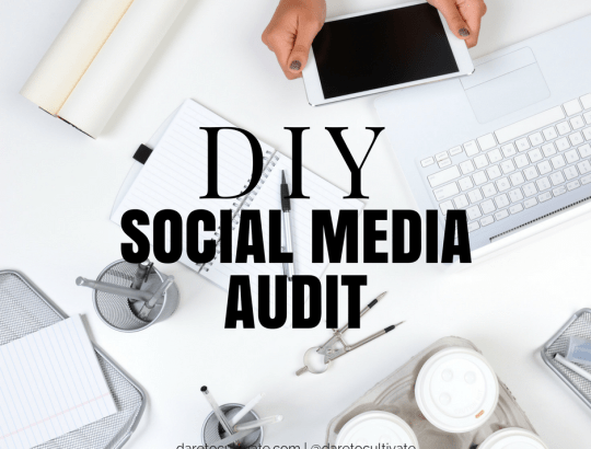 DIY Social Media Audit Checklist
