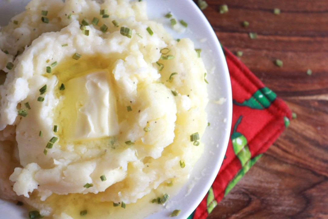Homemade Mashed Potatoes Recipe