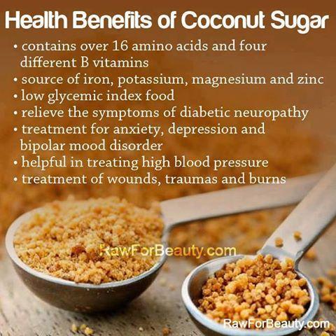 coconut sugar health benefits