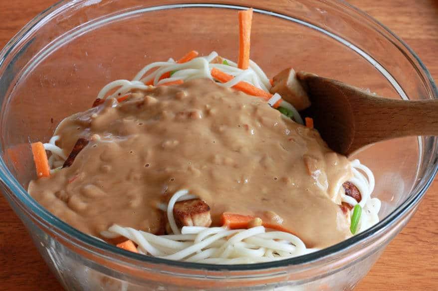 Thai Peanut Tofu prep 17
