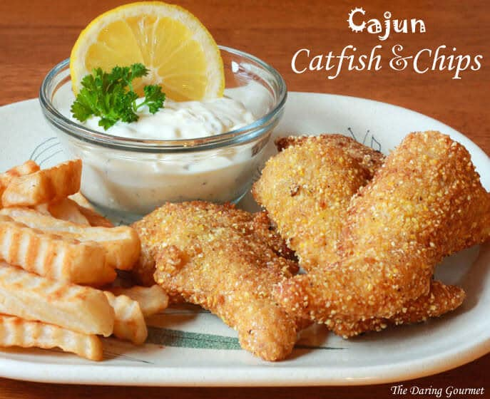 cajun catfish and chips recipe southern