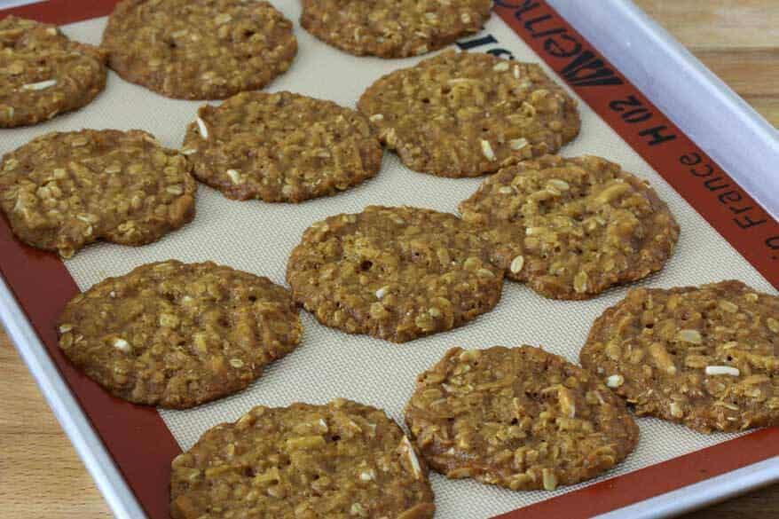 Almond Anzac Cookies prep 8