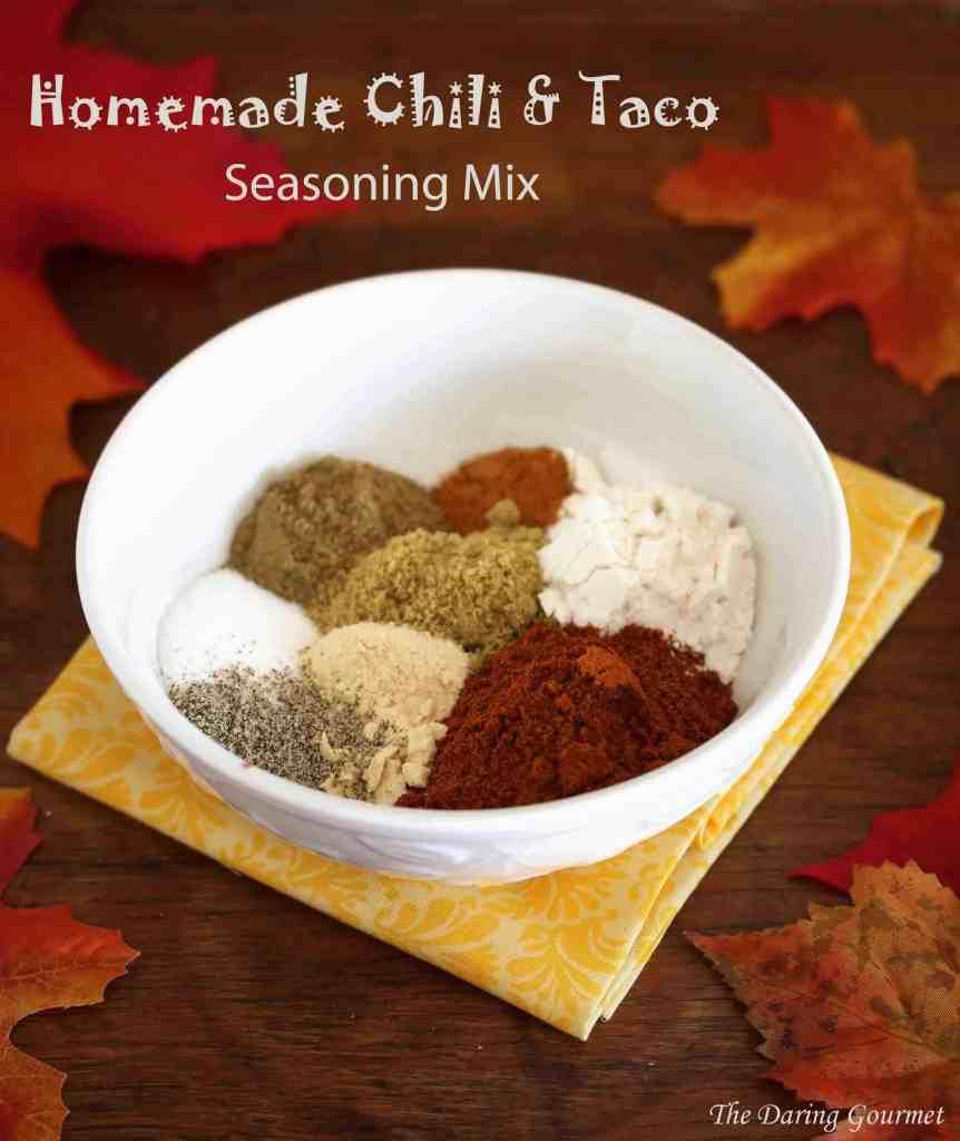 homemade chili taco seasoning mix recipe