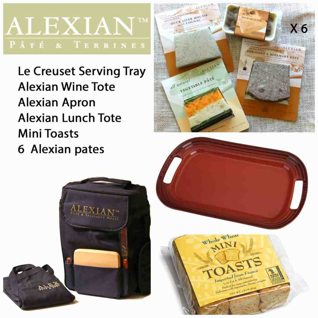 french entertaining alexian duck rillette rosemary pheasant pate giveaway