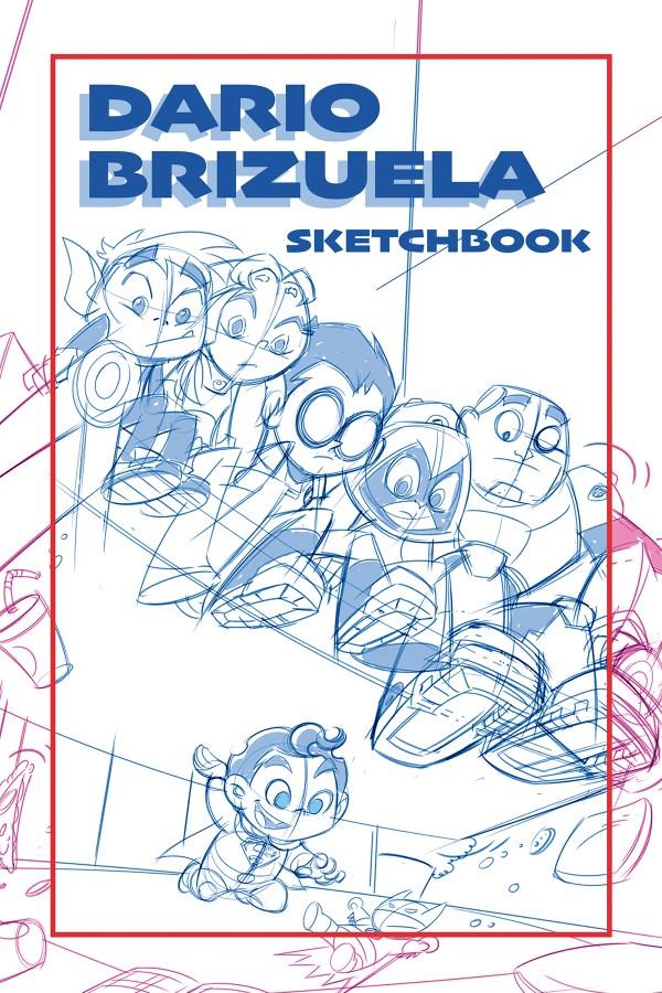 Dario sketchbook 2019 NYCC