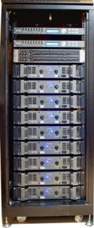 Rack sequenza finali collegati