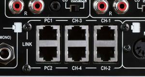 connettori usb per modalità link inclusa nel mixer