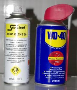 spray sbloccante per circuiti elettrici