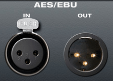 Aes ebu in out