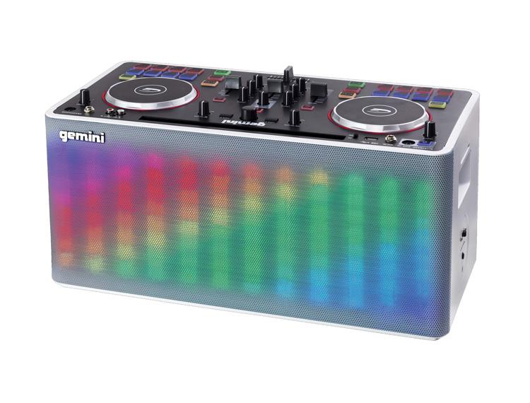 gemini mix2go controller illuminato