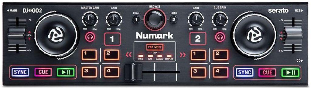 Numark controller entry level