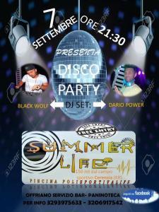 Summer Life Disco Party - Piscina Polisportiva