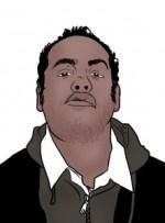 dessin auto portrait Alexandre Bleuzet - Alex Rip