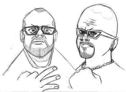 wwe WrestleMania 32 dallas dudley boyz illustration