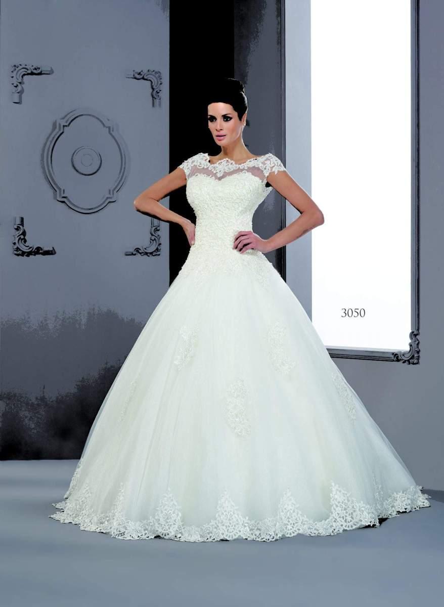 2857ea473d65 Abiti da sposa modesti con maniche corte - Darius Cordell Fashion Ltd