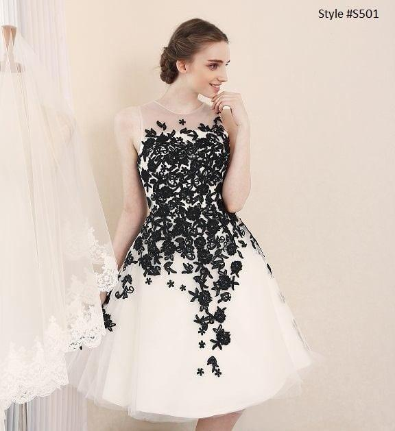Black White Wedding Reception Dresses From Darius Couture,Flower Girl Dresses For Winter Wedding