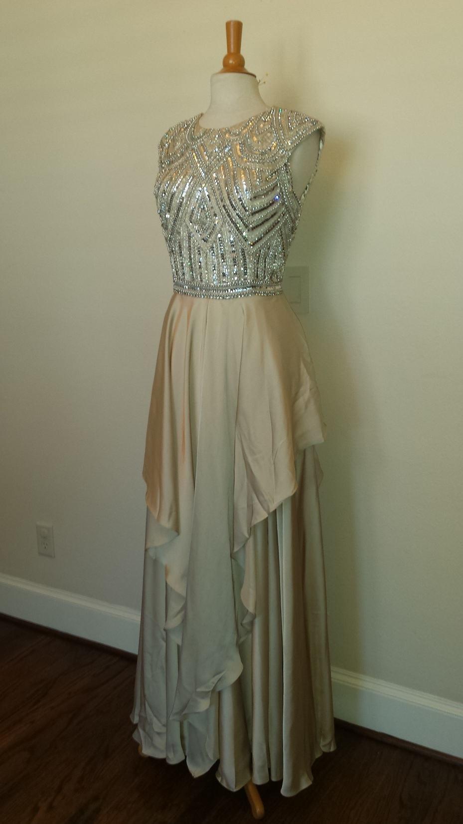 Style C2013nd Naeem Khan Designer Dress Replication Darius Designs