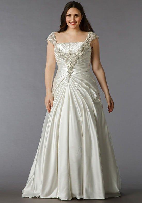 1830849c00 Heavily beaded Plus size Wedding gown - Darius Cordell Fashion Ltd