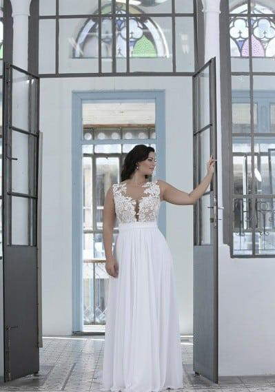 Crocheted Wedding Dresses For Plus Size Brides By Darius Bridal