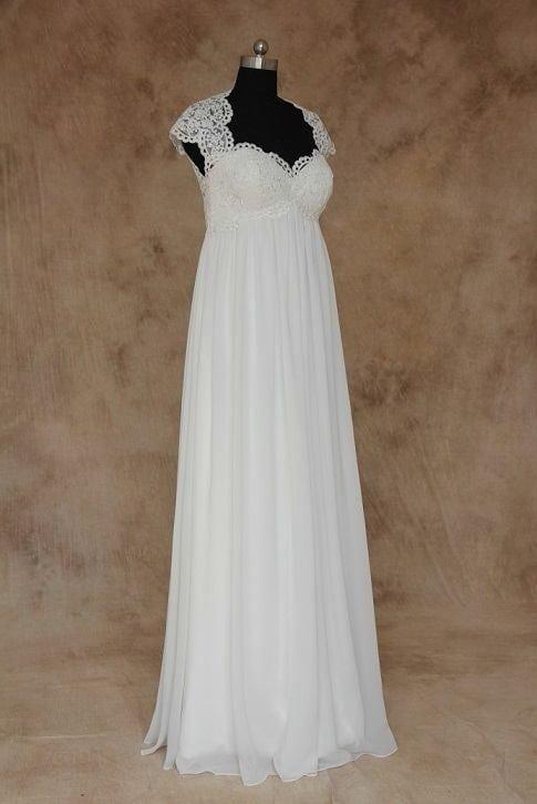 Plus Size Empire Waist Wedding Gowns by Darius Bridal