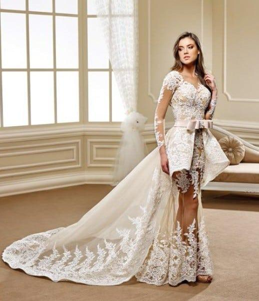 Haute Couture Wedding Gown: Haute Couture Wedding Gowns With Long Sleeves From Darius USA