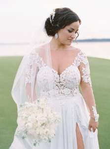 Custom Long Sleeve Wedding Gowns You Can Afford