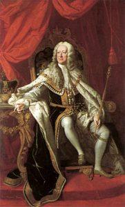 George II King of Great Britain