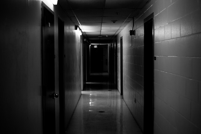 Horror Basement Hallway Story, Writing Prompt