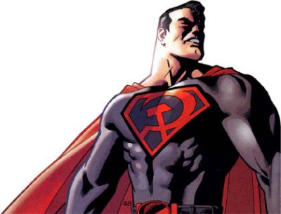 SUPERMAN, RED SON, MARK MILLAR, DAVE JOHNSON, GRAPHIC NOVEL, COMICS, BOOK, SOVIET UNION, HISTORY, COLD WAR