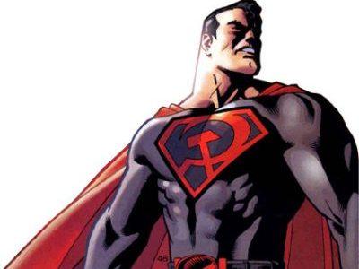 SUPERMAN, RED SON, MARK MILLAR, DAVE JOHNSON, GRAPHIC NOVEL, COMICS, BOOK, SOVIET UNION, HISTORY, COLD WAR
